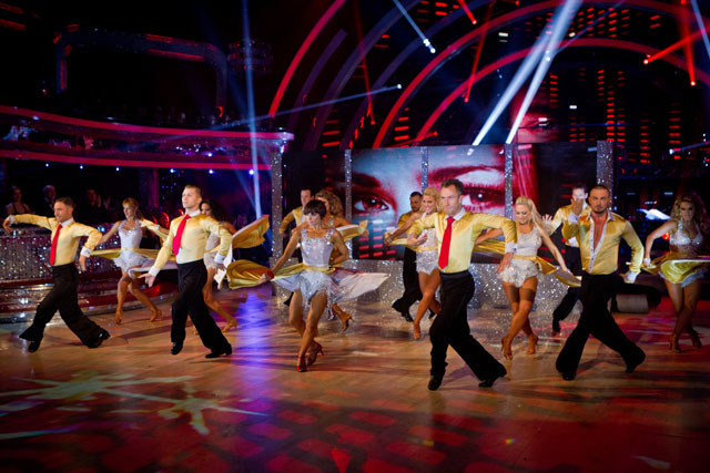 Strictly Come Dancing final 2012