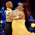 Robin Windsor and Lisa Riley - week 9