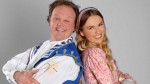 Justin Fletcher and Zoe Salmon