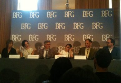 The BFG UK Press Conference