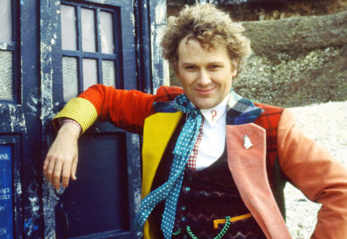 Colin Baker is the Sixth Doctor. Image: BBC.