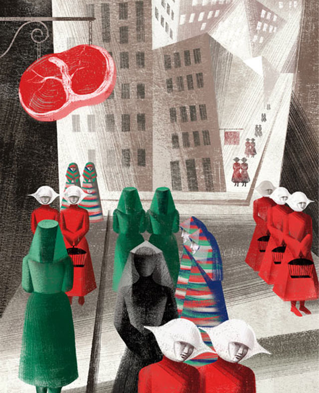 an analysis of the novel the handmaids tale by margaret atwood Margaret atwood's a handmaid's tale - analysis of themes - fiction essay example what are the major themes of the handmaid's tale.