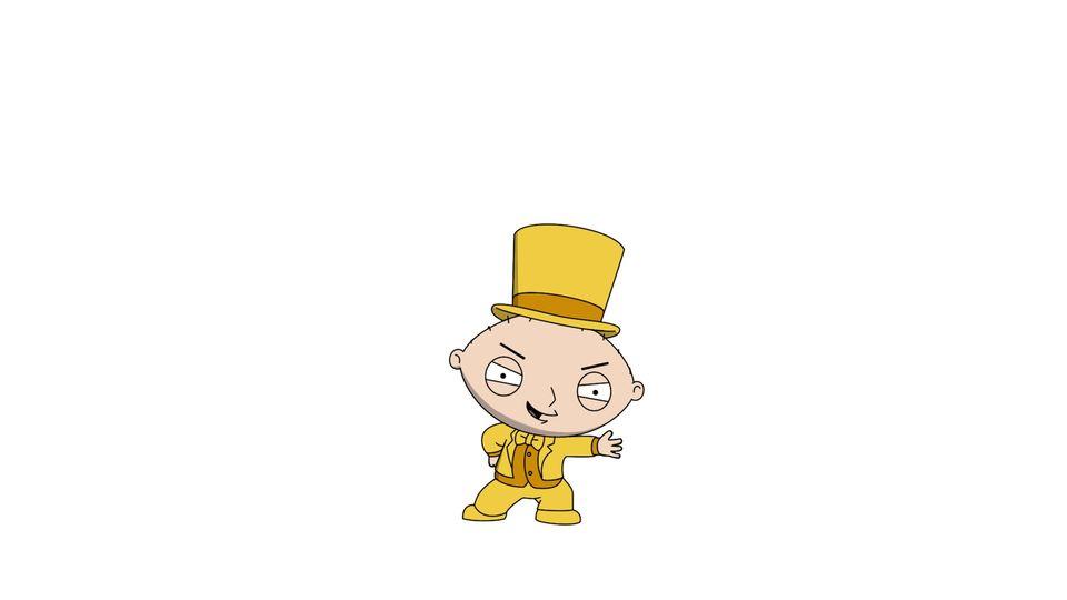 Gold Stewie