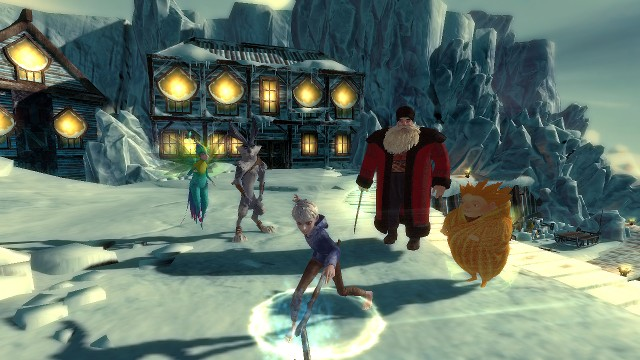 Rise of the Guardians: The Video Game  – Screenshot