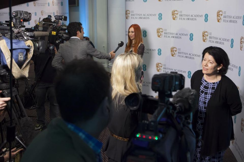 Juno Temple at EE BAFTA Rising Star nominations launch