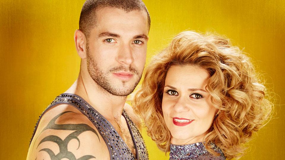 Shayne Ward and Maria Filippov