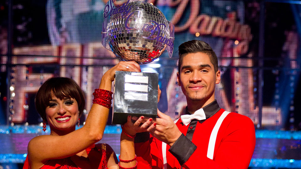 Flavia Cacace and Louis Smith