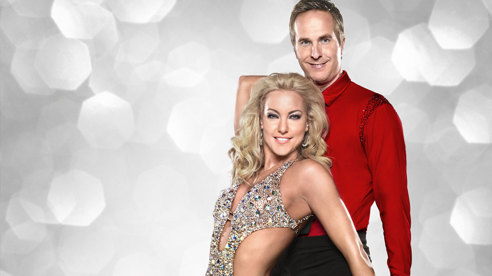 Natalie Lowe and Michael Vaughan
