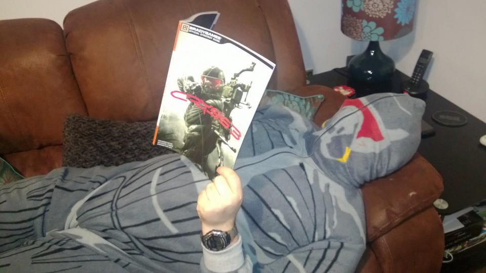 Crysis 3 onesie