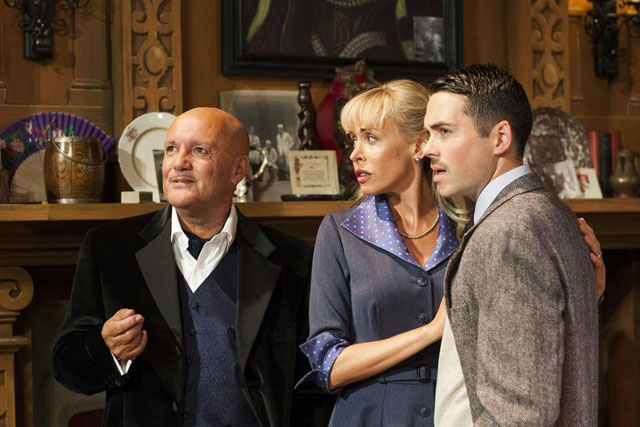 Karl Howman, Jemma Walker & Bruno Langley in The Mousetrap.