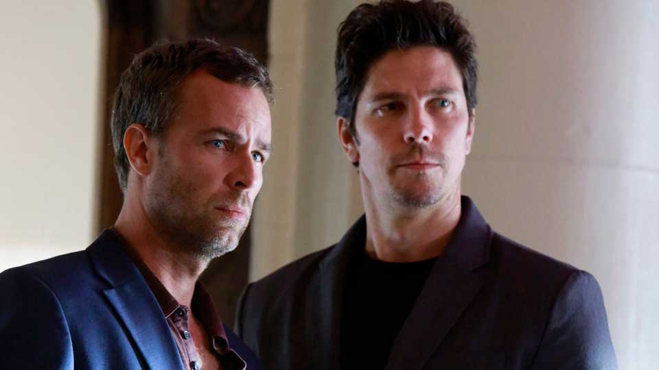J.R. Bourne and Michael Trucco