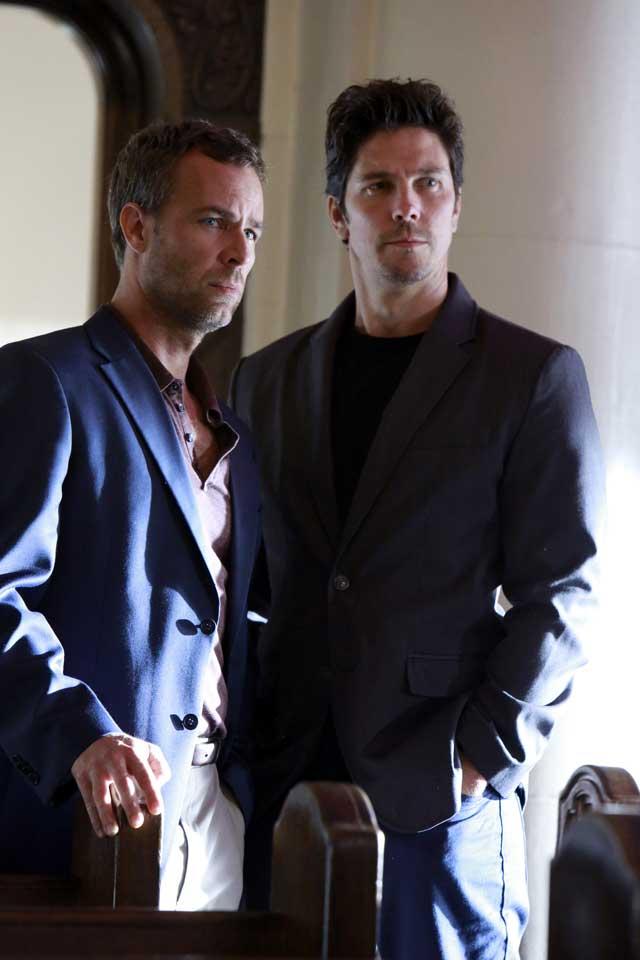 J.R. Bourne and Michael Trucco
