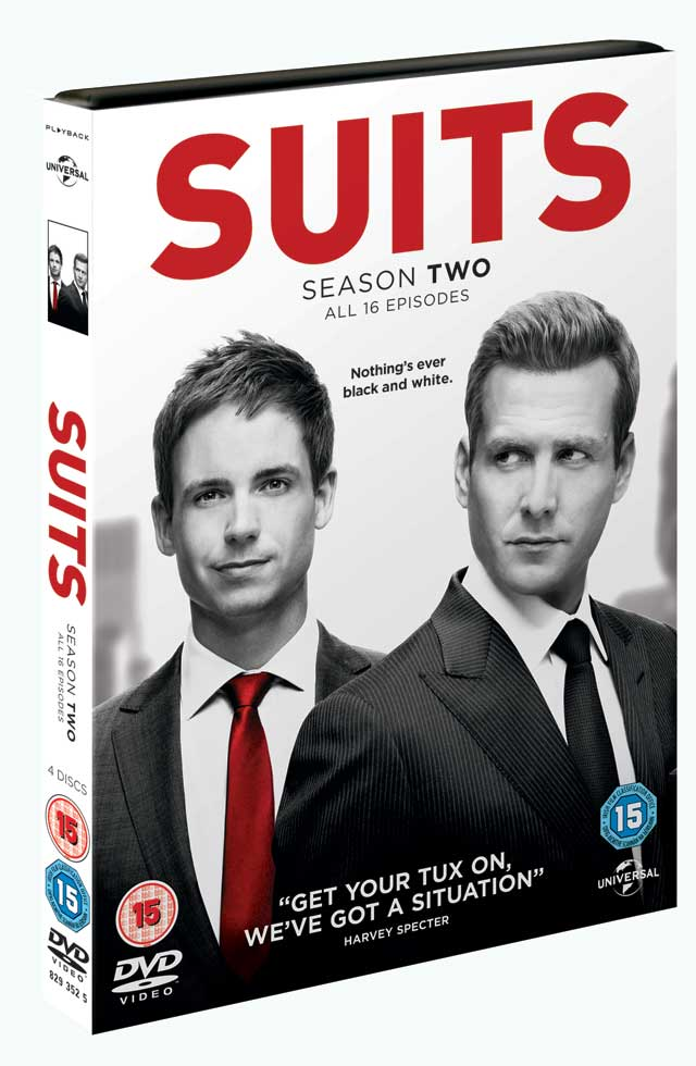 Suits Season 2 DVD