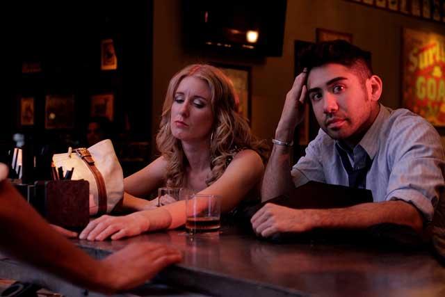 Holly Holstein and Matt Palazzolo