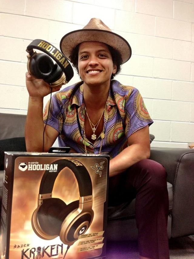Bruno Mars E-Panda Razer