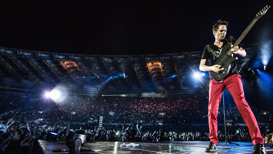 muse live at rome olympic stadium cd dvd