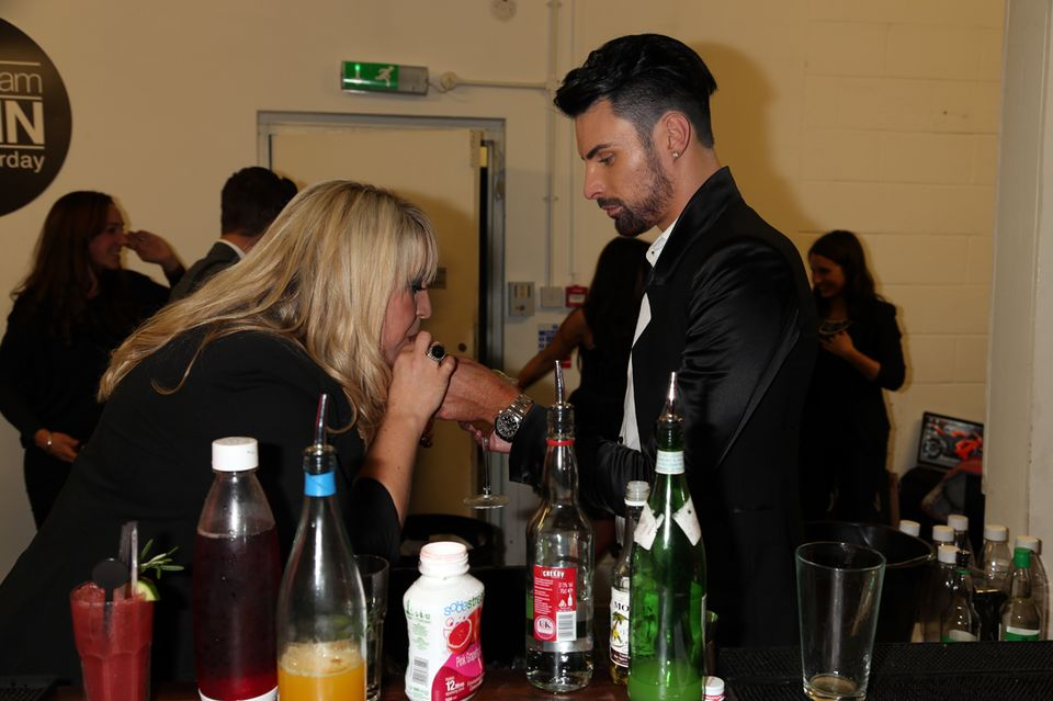 Shelley Smith and Rylan Clark