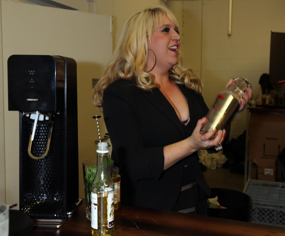 Stars attend SodaStream Saturday Nights In party (20)