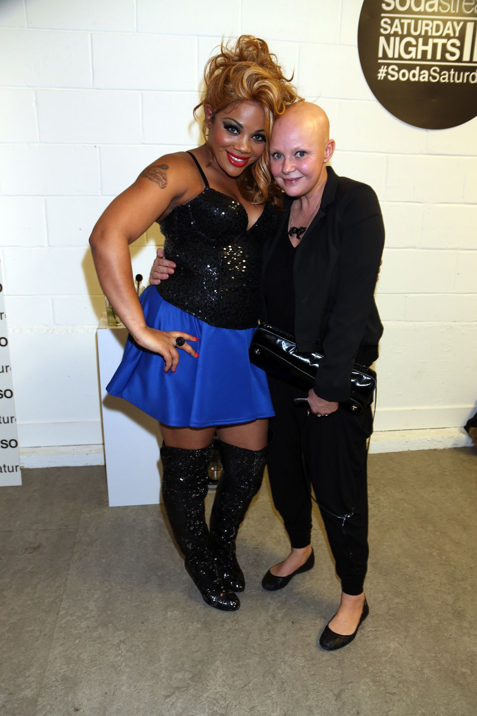Lorna Simpson and Gail Porter