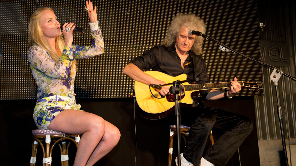 Kerry Ellis and Brian May