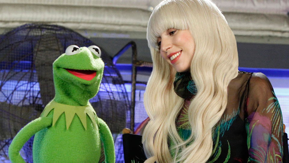 Kermit and Lady Gaga