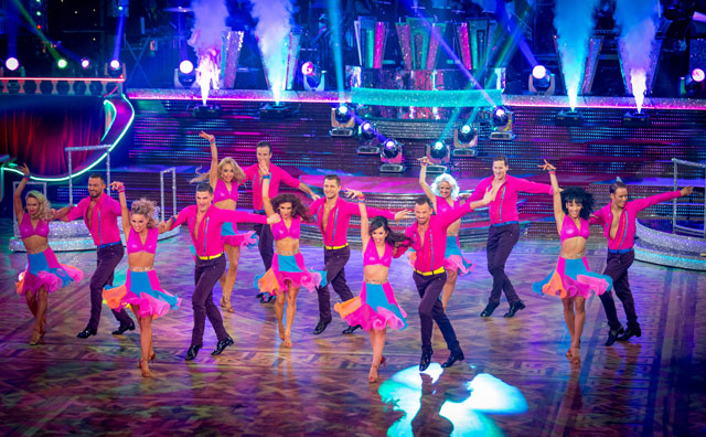 Strictly Come Dancing week 8