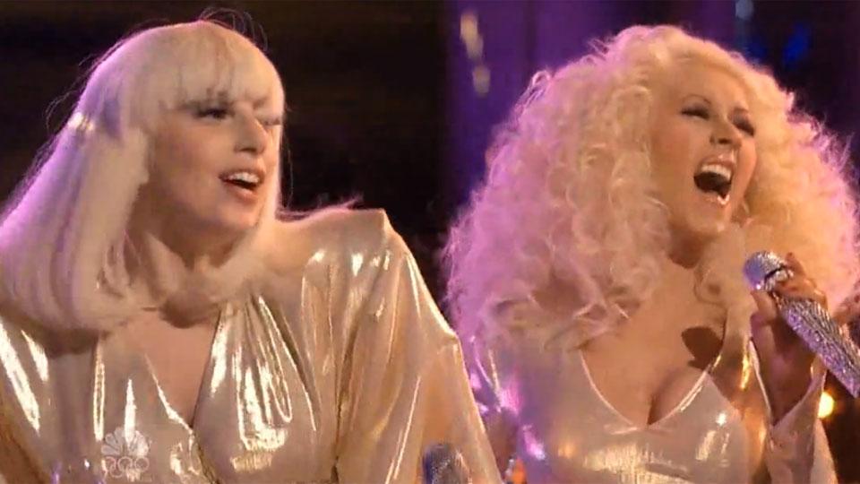 Lady Gaga and Christina Aguilera