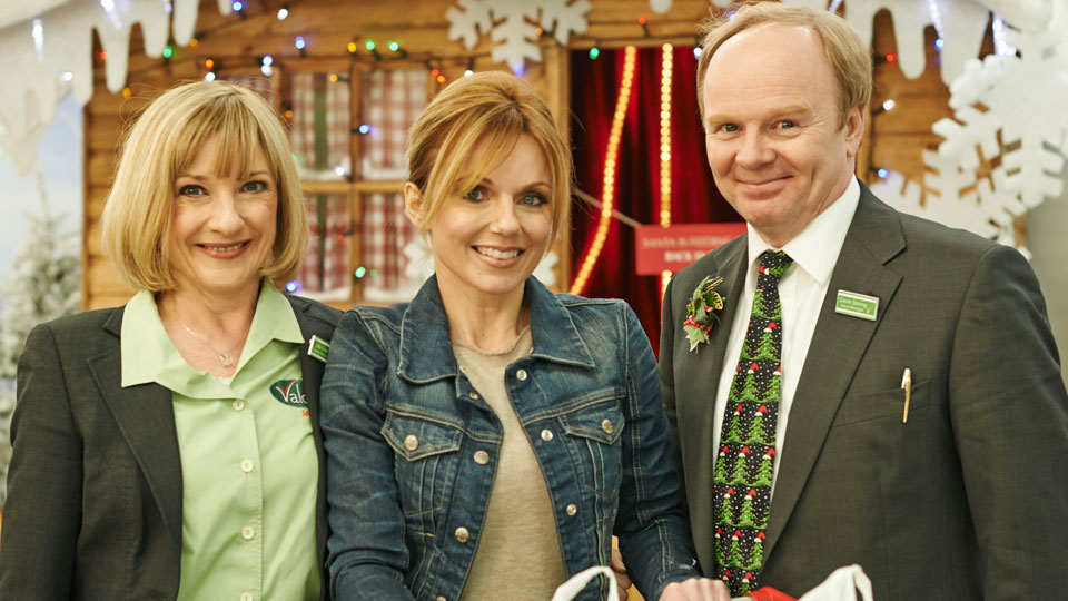 Geri Halliwell in Trollied