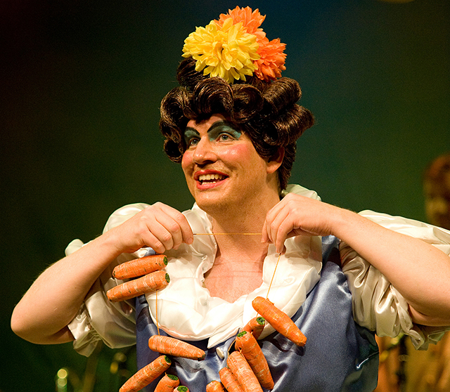 Simon Nock as Dame Dolly Durden.