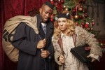 Oritse Williams and AJ Azari