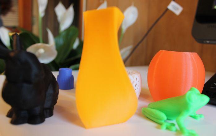 3D printed example – vase