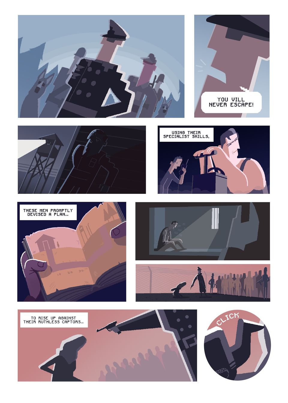 The Breakout – Comic Intro pt2