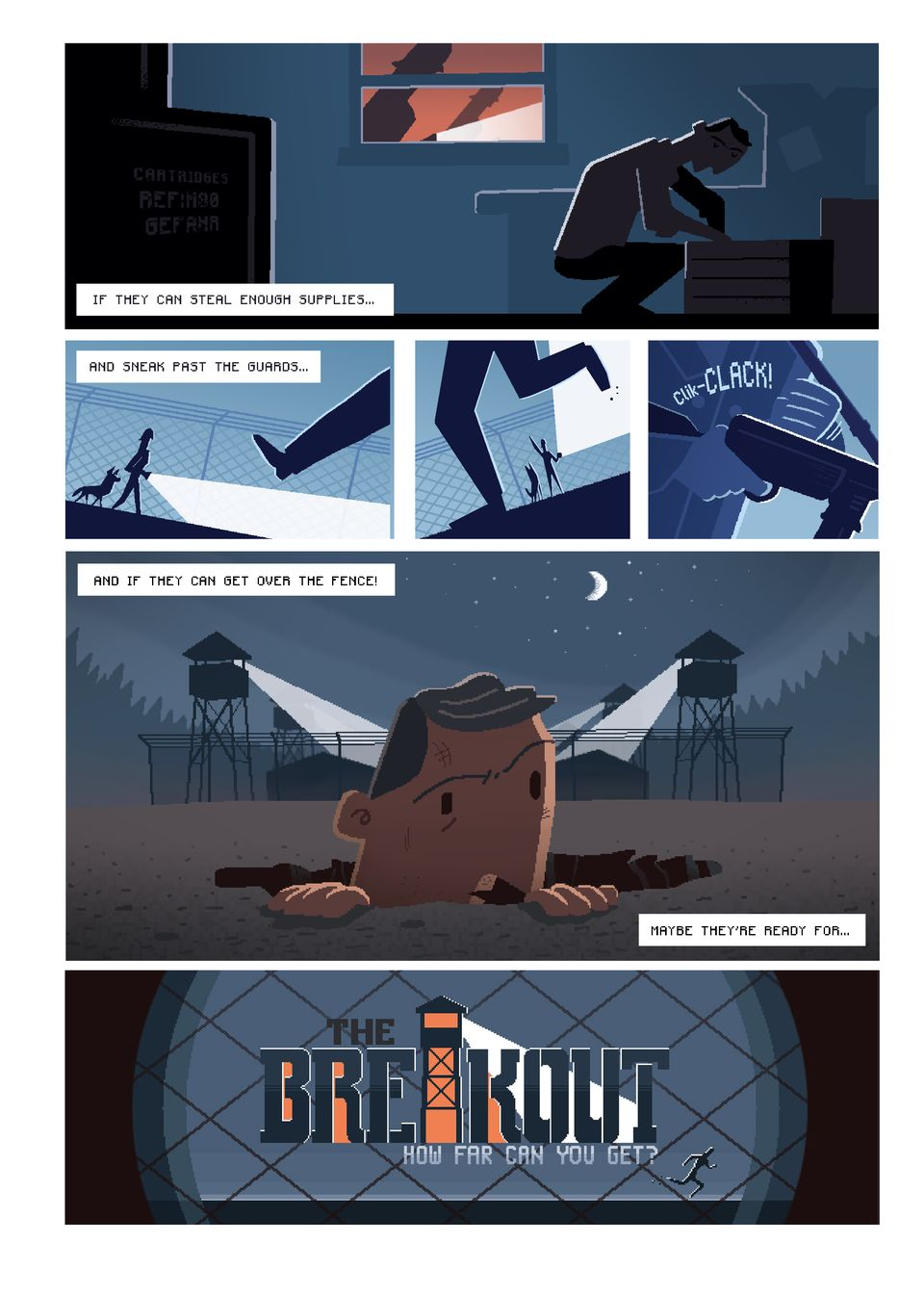 The Breakout – Comic Intro pt4
