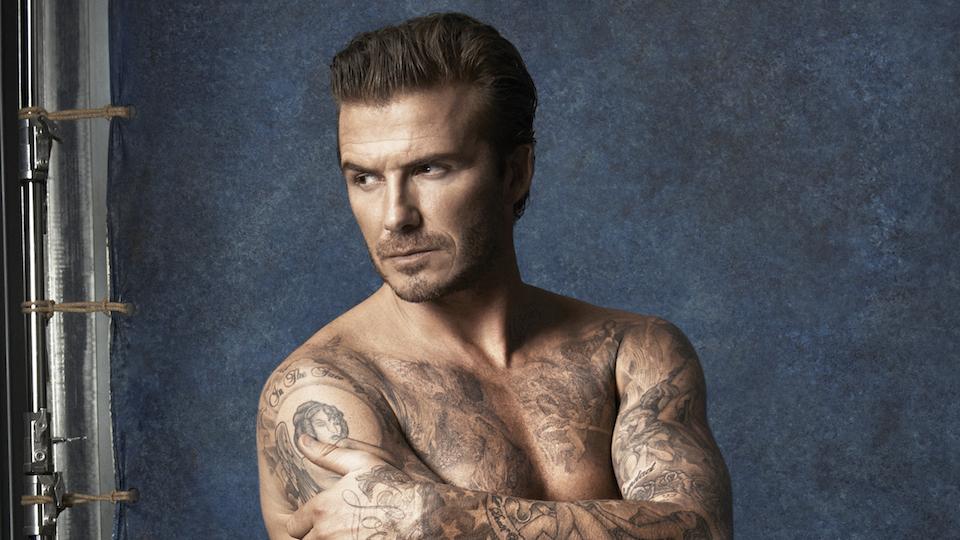 David Beckham swimwear