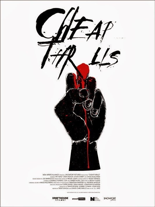 Cheap Thrills - Jay Shaw Poster