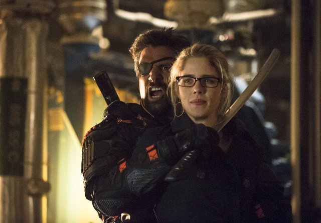 Arrow season 2 - Felicity and Slade