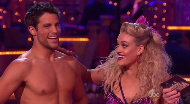 brant daugherty shirtless dancing with the stars