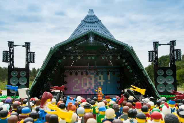 LEGO at Glastonbury