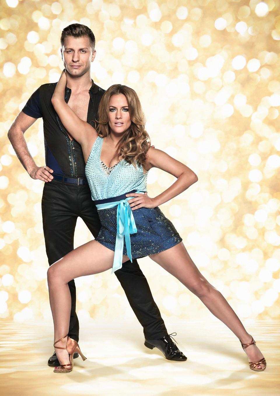 Pasha Kovalev and Caroline Flack