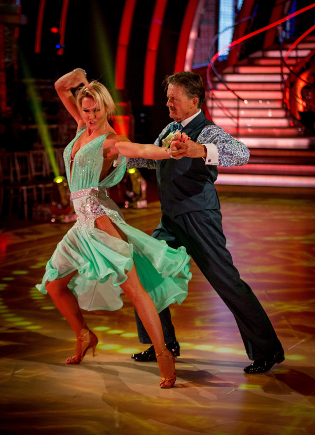 Natalie Lowe and Tim Wonnacott