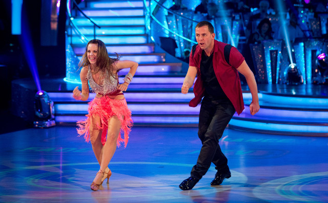 Joanne Clifton and Scott Mills