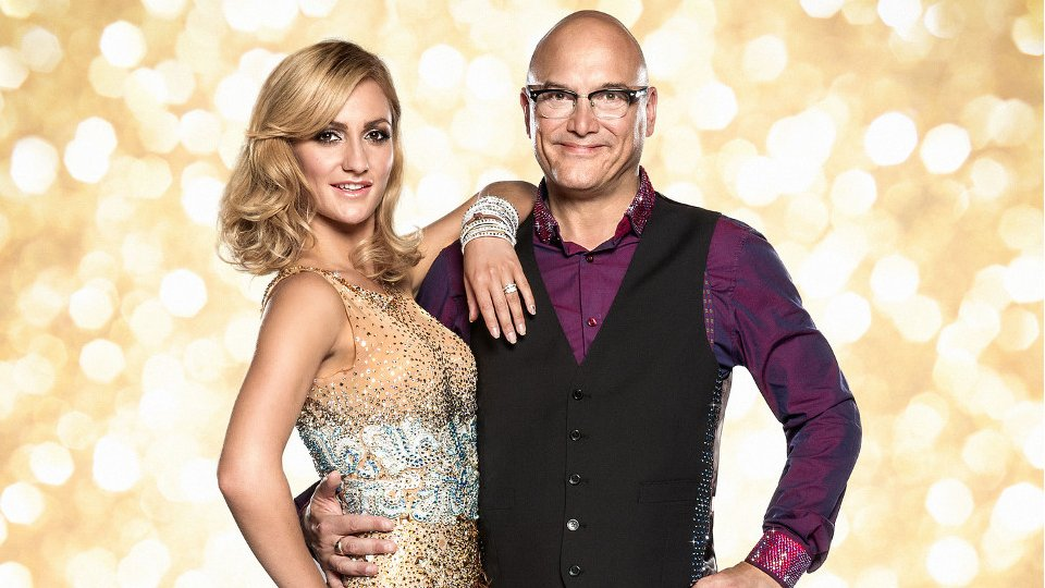 Gregg Wallace and Aliona Vilani