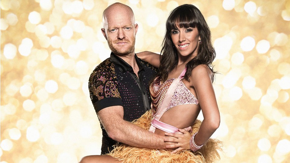 Jake Wood and Janette Manrara