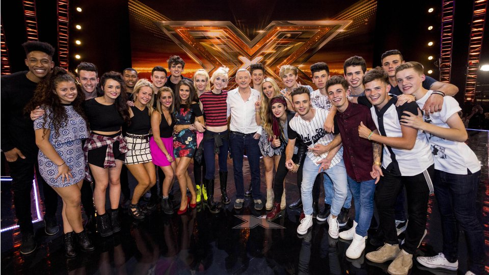 Louis Walsh and the top 6 groups