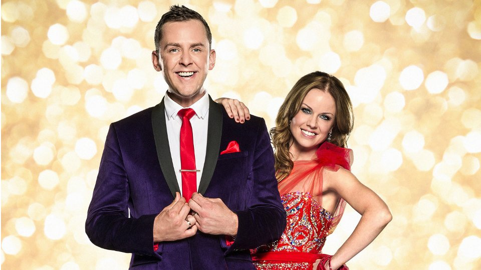 Scott Mills and Joanne Clifton