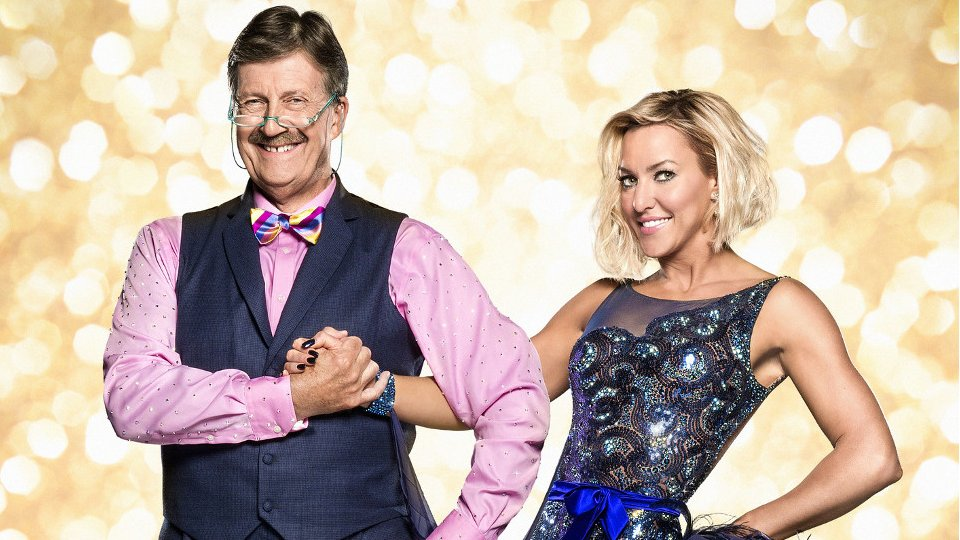 Tim Wonnacott and Natalie Lowe