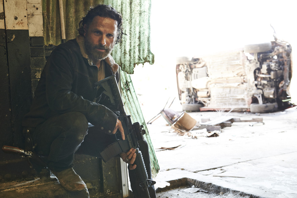 Andrew Lincoln as Rick Grimes – The Walking Dead _ Season 5, Gallery