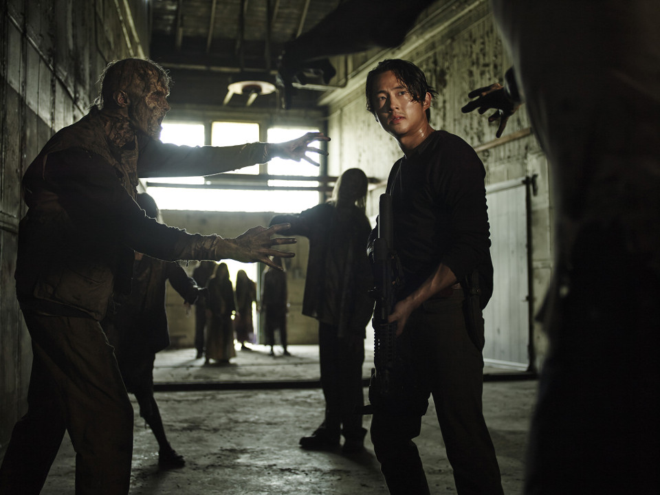Steven Yeun as Glenn Rhee – The Walking Dead _ Season 5, Gallery –