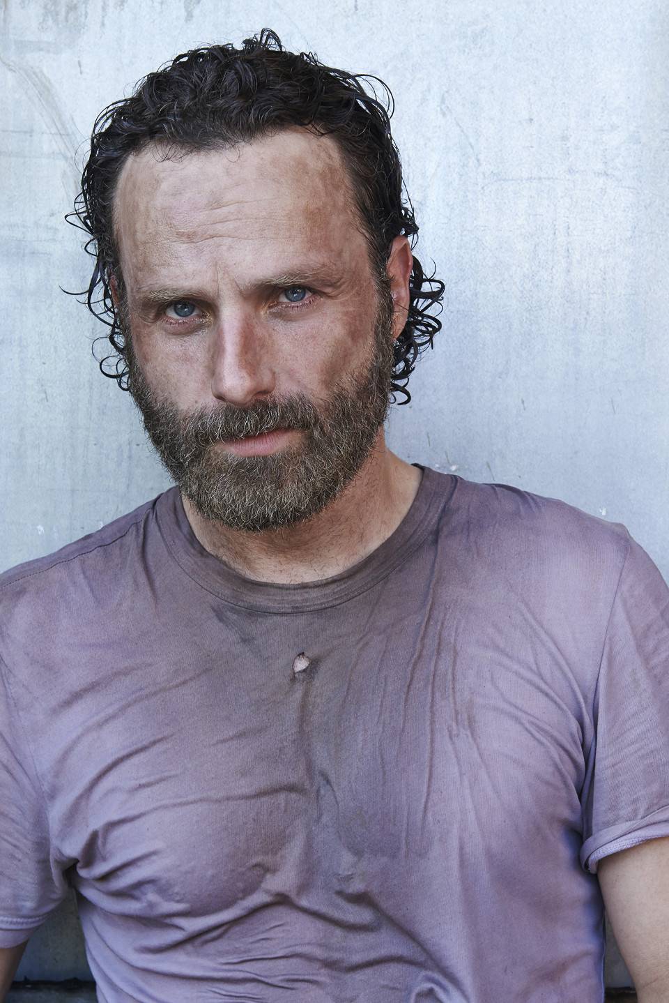 Andrew Lincoln as Rick Grimes – The Walking Dead _ Season 5, Gallery –