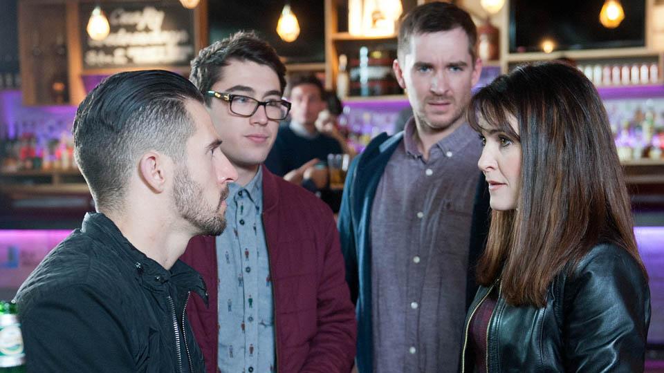 Ross, Finn, Pete & Emma Barton